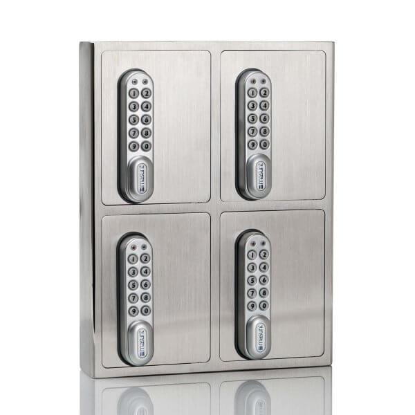 Key Box Schlüsselsafe V2A-4er