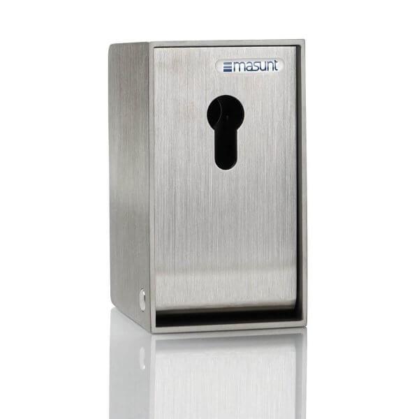 Schlüsseldepot Edelstahl V2A für Profilzylinder vorgerichtet