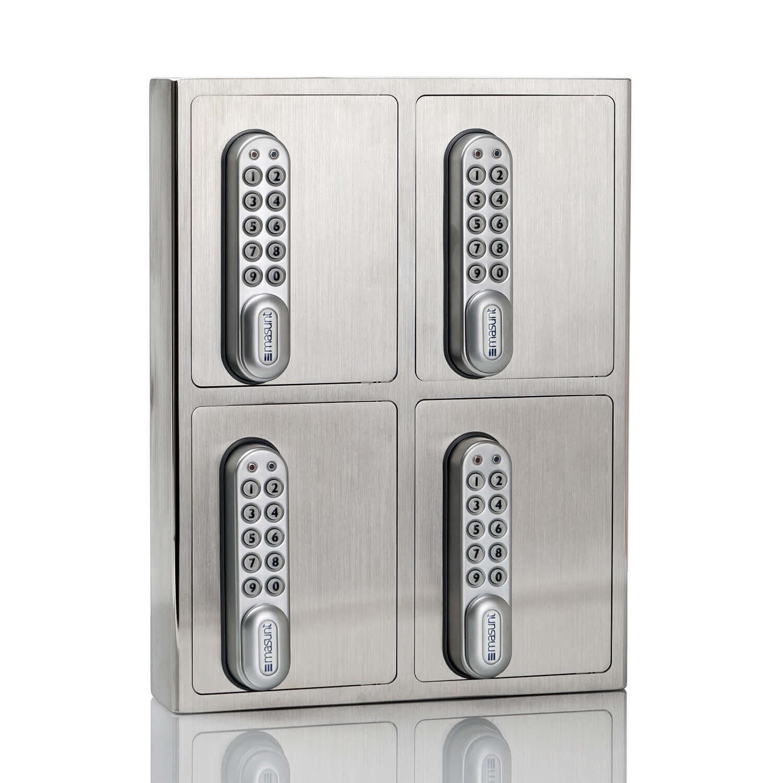 key box schl sselsafe v2a 4er highclass edelstahlprodukt. Black Bedroom Furniture Sets. Home Design Ideas